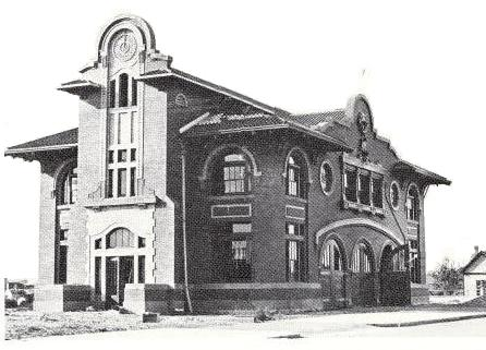Pasco City Hall circa 1909 touch-up
