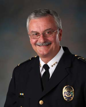 Police Chief Bob Metzger